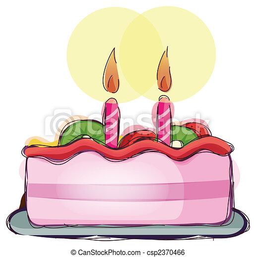 cake - csp2370466