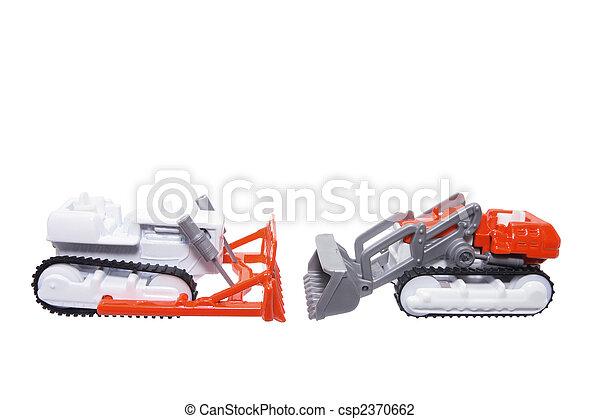 miniatura, brinquedo, fazenda, Veículos - csp2370662