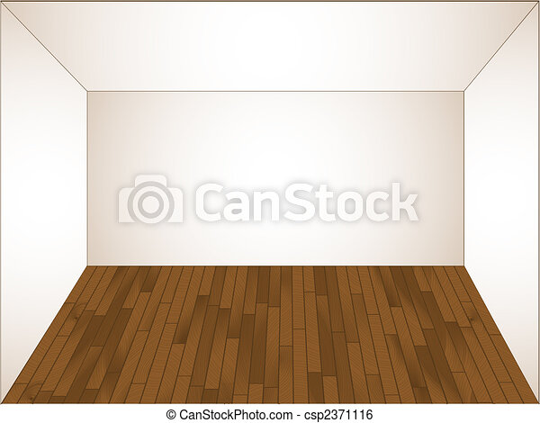 Empty Living Room Clipart
