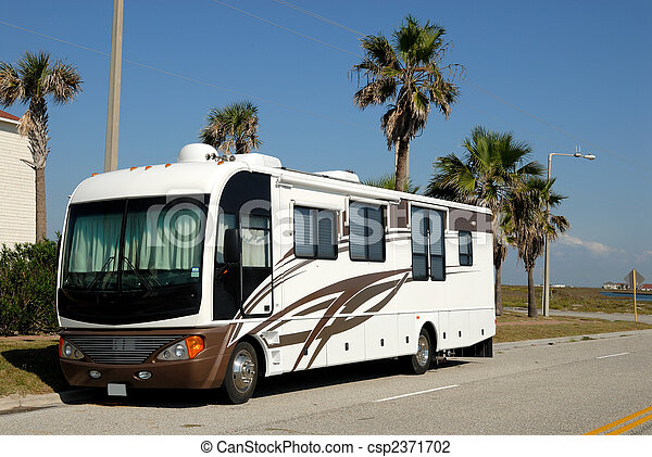 Recreational vehicle, southern texas, united states - csp2371702