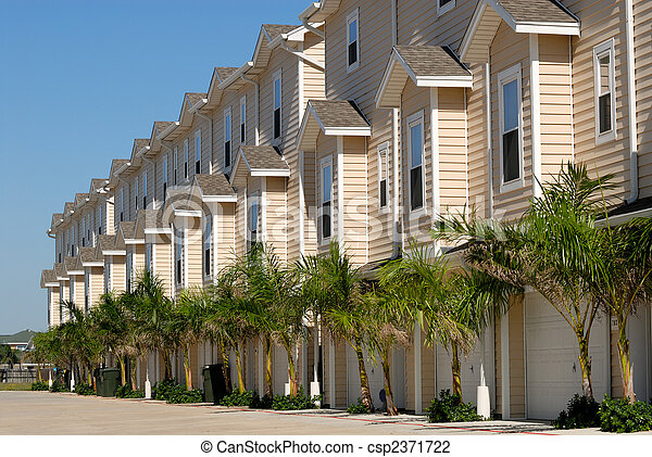 Apartment house in the southern United States - csp2371722