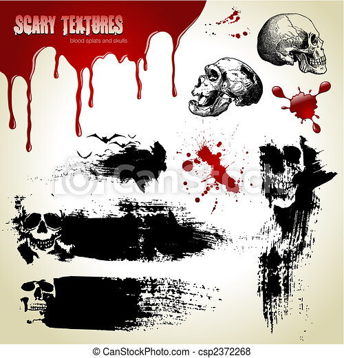 scary textures - csp2372268