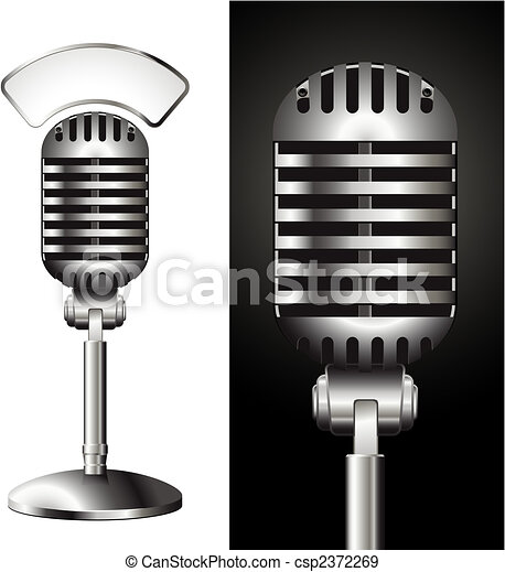 microphone - csp2372269