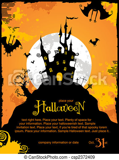 halloween background - csp2372409