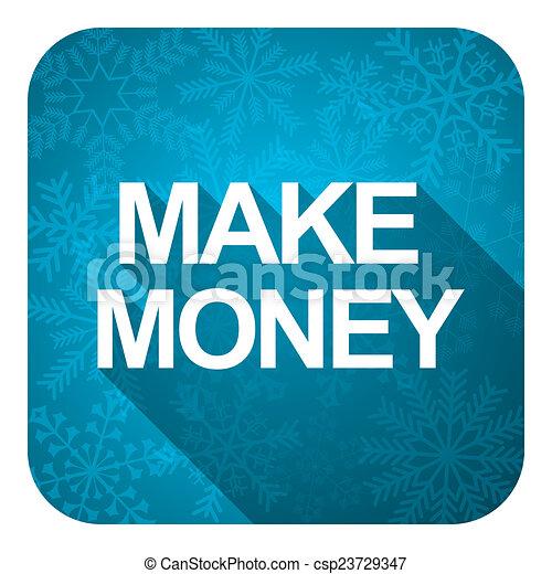 Making Money Icons Make Money Flat Icon