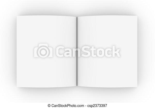 Open Book - csp2373397