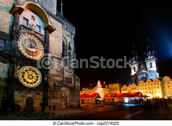 Christmas Prague - csp2374022