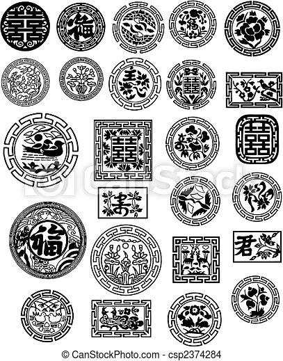 Chinese design - csp2374284