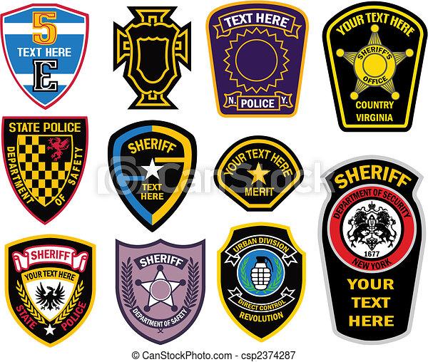 badge element - csp2374287