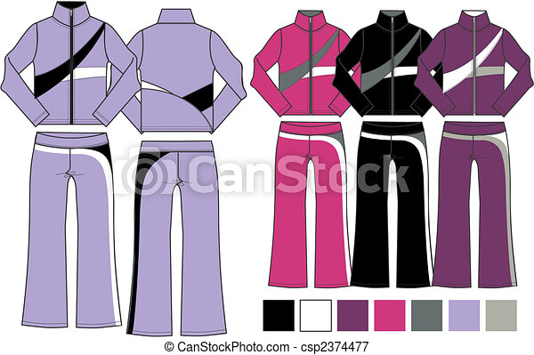 lady fashion 2 piece set - csp2374477