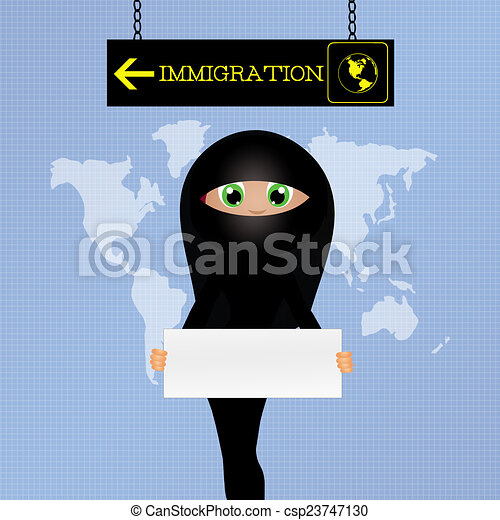 Drawings of illegal immigration - illustration of illegal ...