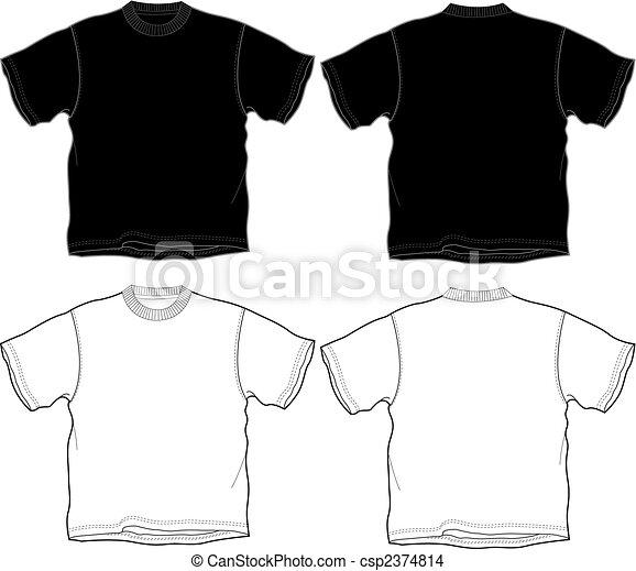 t-shirt outline - csp2374814