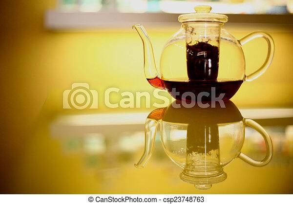 image de th i re transparent verre cuisine table th i re csp23748763 recherchez des. Black Bedroom Furniture Sets. Home Design Ideas