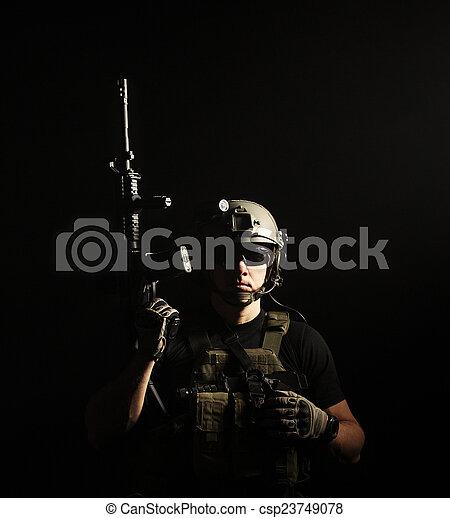 militär, entreprenör, privat,  pmc - csp23749078
