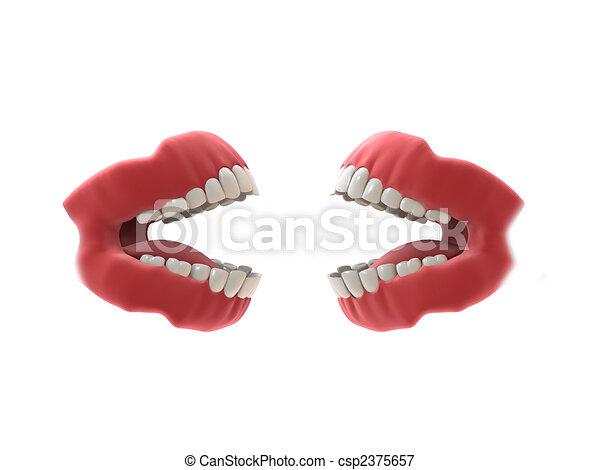 denture - csp2375657
