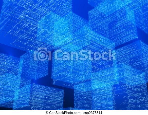 matrix cubes - csp2375814