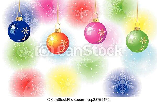 festive background  - csp23759470