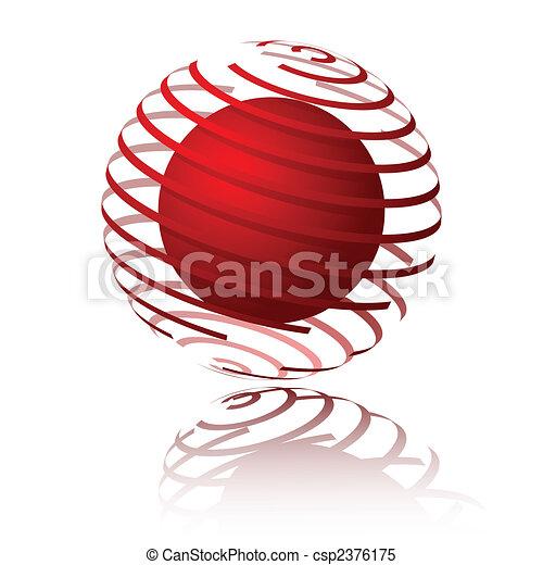 Sphere spiral - csp2376175