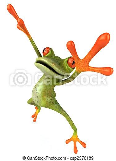 Fun frog - csp2376189