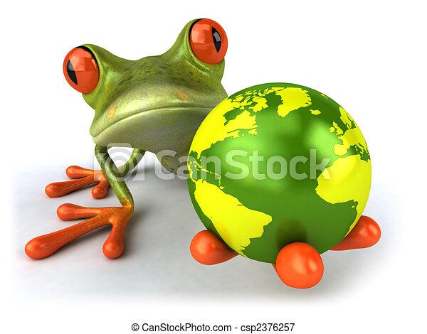 Fun frog - csp2376257