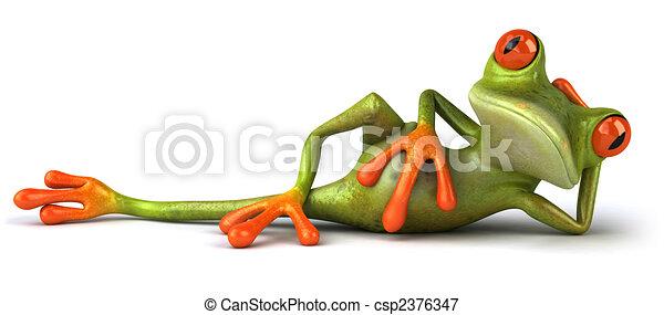 Fun frog - csp2376347