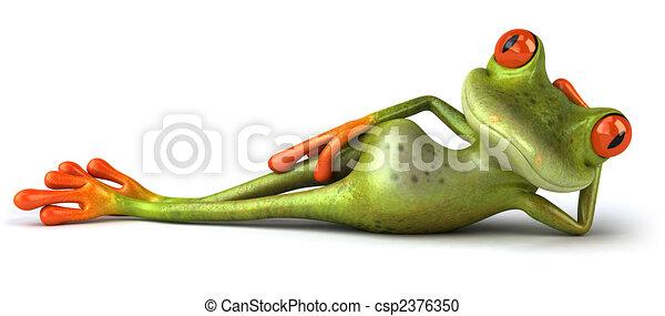 Fun frog - csp2376350