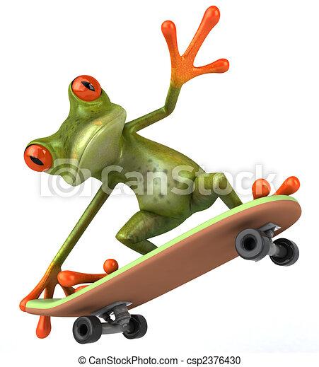 Fun frog - csp2376430