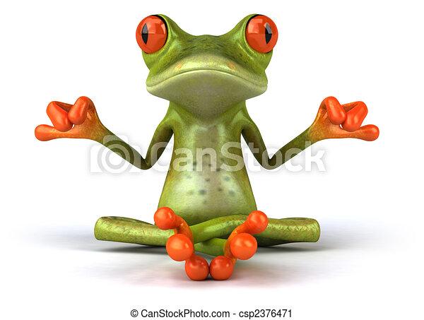 Zen frog - csp2376471