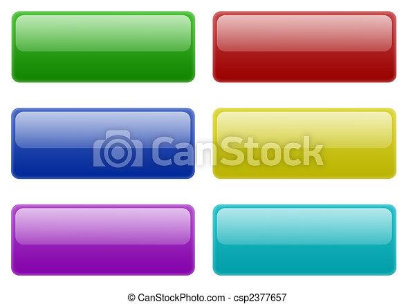 Web 2.0 Buttons - csp2377657