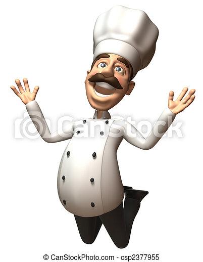 Fun chef - csp2377955