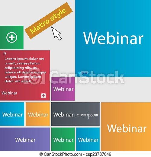how to set up a webinar on webex