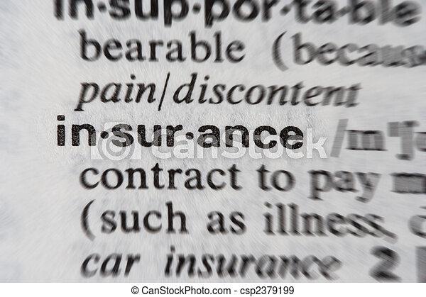 Word Insurance - csp2379199
