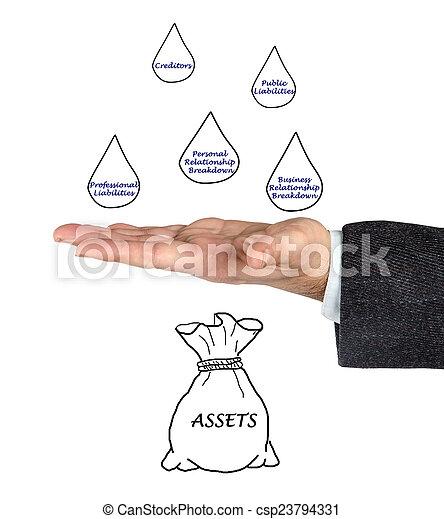 asset protection - csp23794331