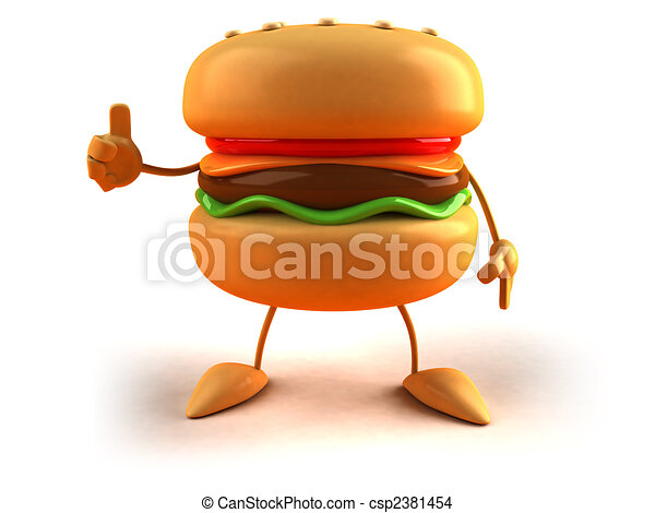 Hamburger - csp2381454