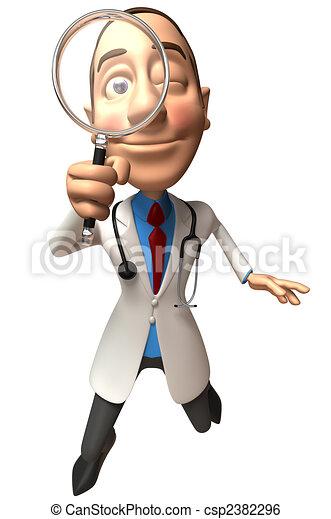 Fun doctor - csp2382296