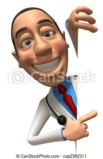 Fun doctor - csp2382311
