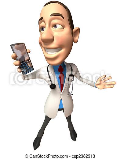 Fun doctor - csp2382313