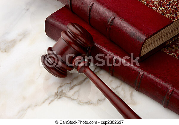 Legal still life - csp2382637