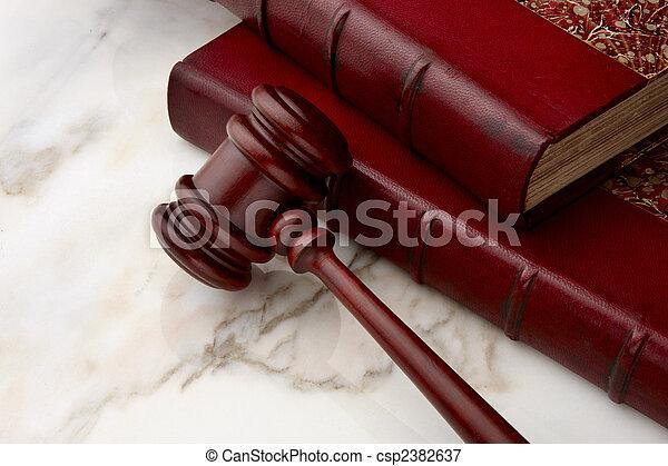 Legal still life - csp2382637