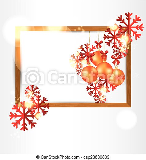 vector clipart of christmas greeting card vector
