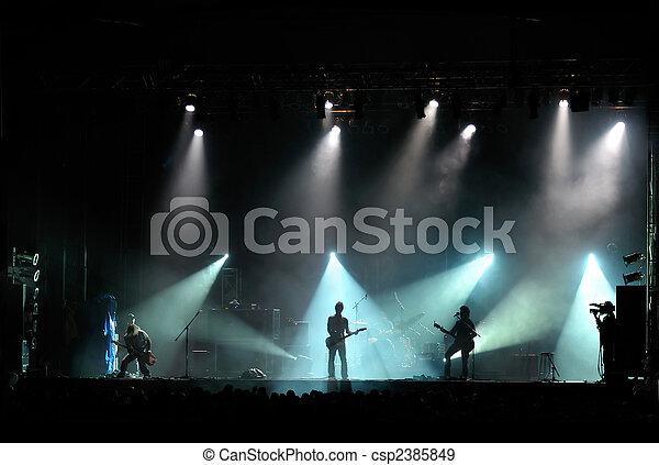 Rock concert - csp2385849