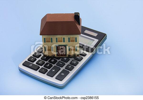 Mortgage Calculator - csp2386155