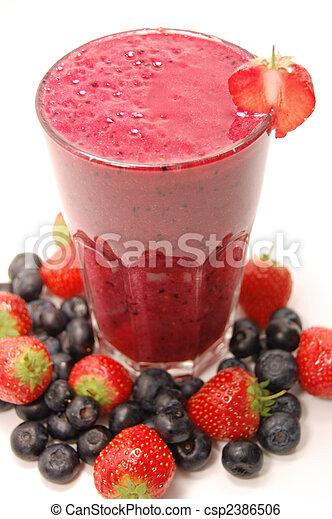 Smoothie drink - csp2386506