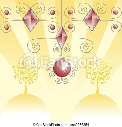 red jewels - csp2387354