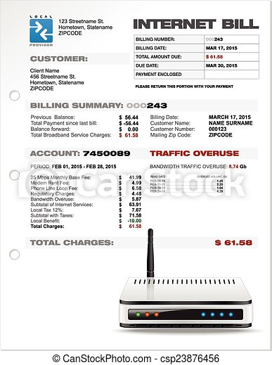 Internet Bill Format.billing Invoice Template 180.png - army bmi chart