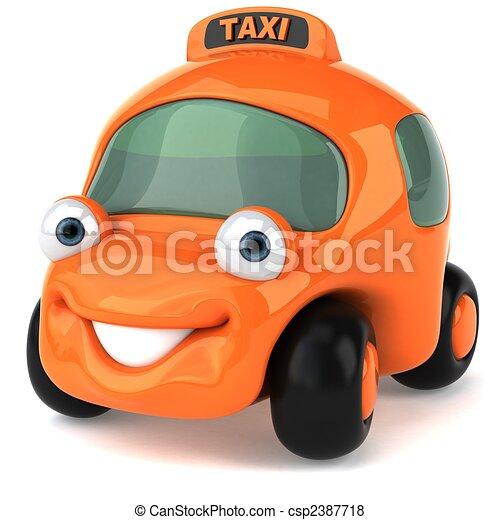 Taxi - csp2387718