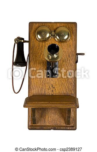 bilder von wand altes telefon altes telefon aus freigestellt csp2389127 suchen sie. Black Bedroom Furniture Sets. Home Design Ideas