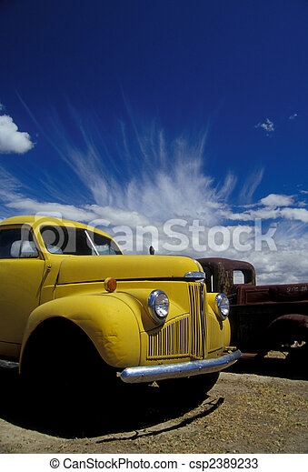 Old trucks - csp2389233