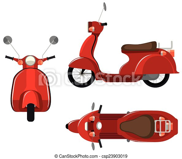 Electric Scooter Side Car