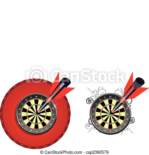 Darts as a concept to achieve the goal - csp2390579